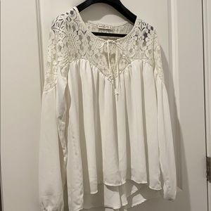 Chiffon blouse from Abercrombie & Fitch
